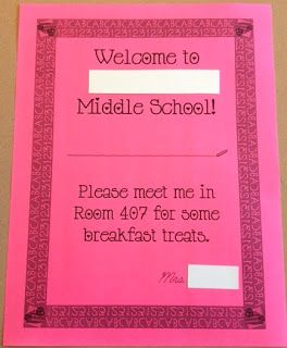Middle School Math Rules!: Welcoming Students to a New School