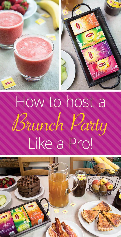 Strawberry Banana Green Tea Smoothie | Recipe | Brunch party, Green ...