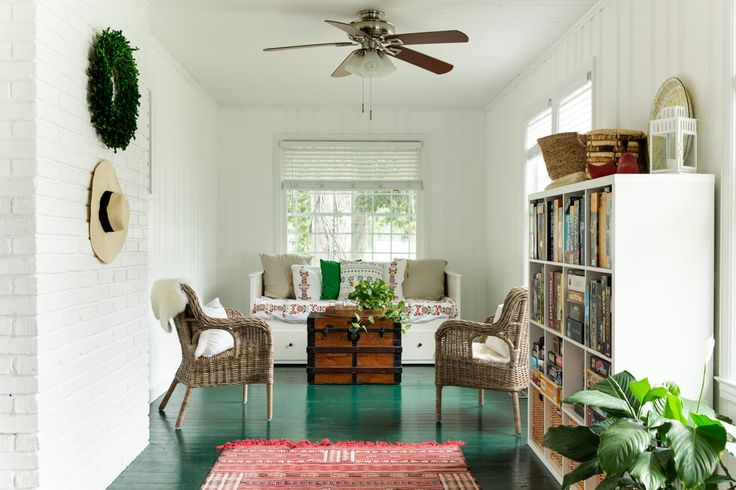 Goodbye Brooklyn, Hello Savannah: A Scandinavian-Meets-Craftsman Style Bungalow Renovation