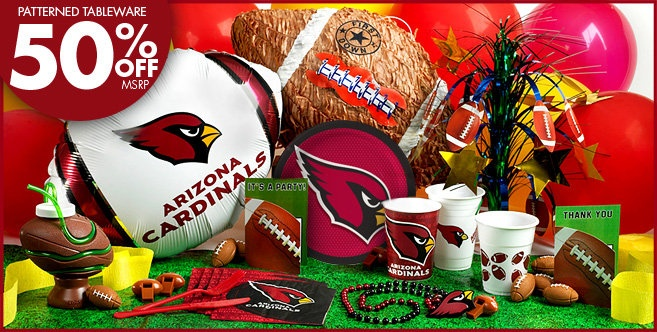 Arizona Cardinals Chrome Can Tumbler
