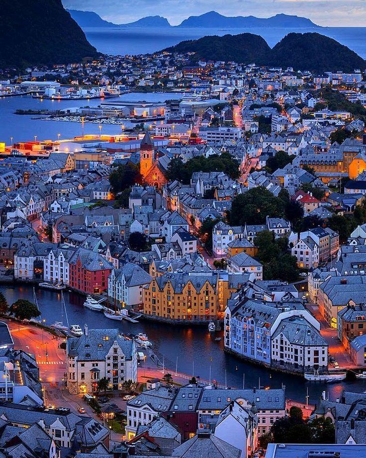 Alesund, Norway by bogomyako - Rinku Singh - Google+