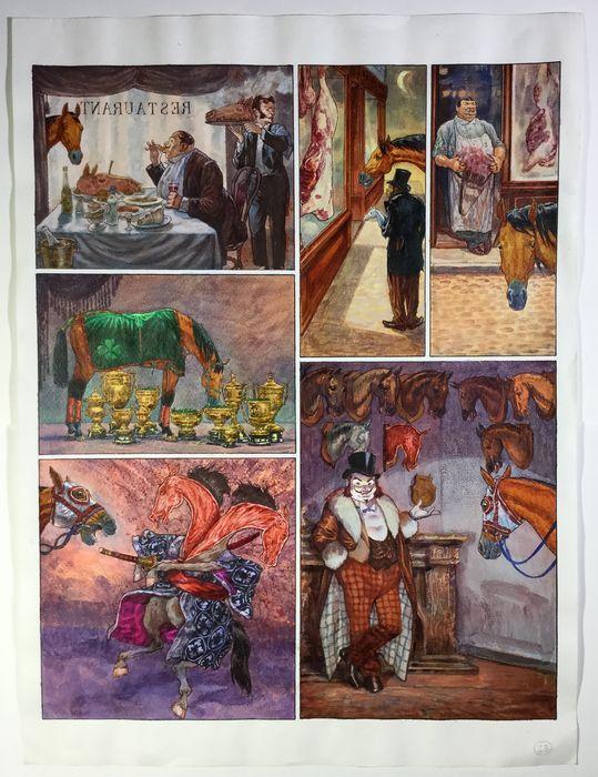 Attualmente nelle aste di #Catawiki: Smudja, Gradimir - Pagina originale - Le cabaret des muses T3 - Allez, Darlin...