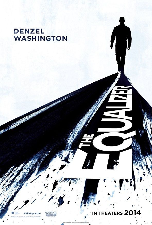 Póster  de 'The Equalizer' con Denzel Washington