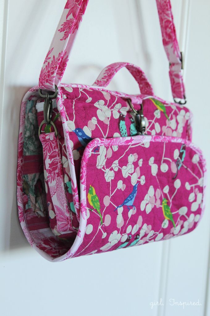 Hanging Cosmetics Travel Bag Sewing Projects Hanging