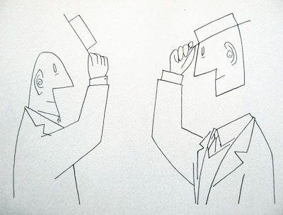 saul steinberg - Google Search