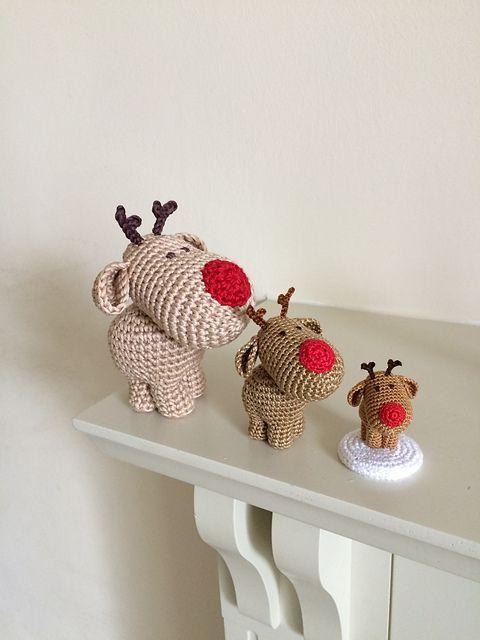 Ravelry: Three Little Reindeer pattern by Uljana Semikrasa