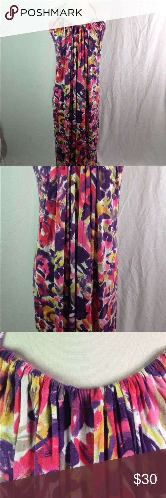 Velvet Graham Spencer Halter Floral Maxi Dress Med Velvet by Graham Spencer Floral Halter Maxi Dress. Perfect beach dress! Easy to carry in your luggage and pull out to wear. Will still look great after being smooshed. Please ask questions! Velvet by Graham & Spencer Dresses Maxi