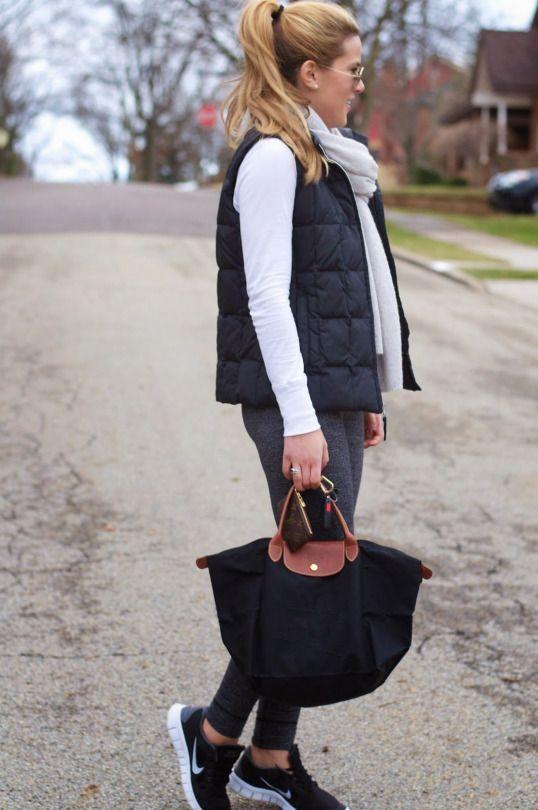 Bolso habo negro tela