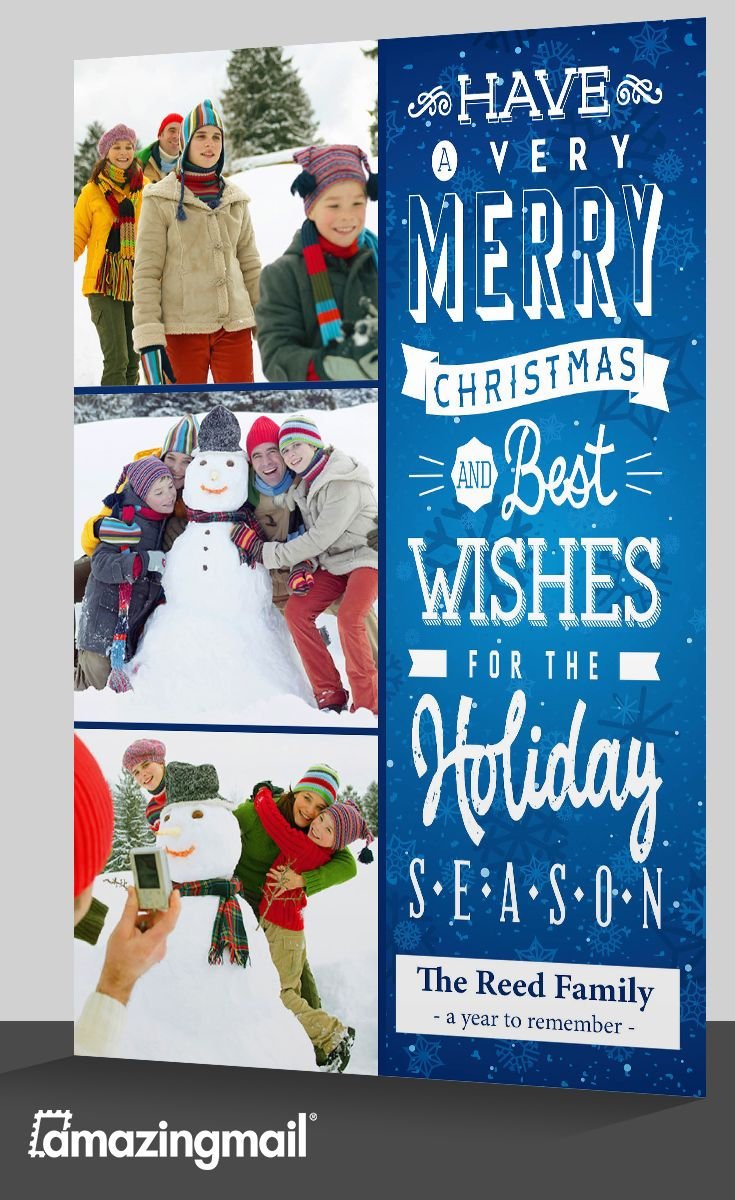 Best Holiday Newsletter Cards By Amazingmail Images On