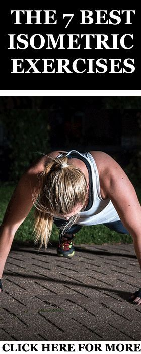 Here are the 7 best isometric exercises you need to build strength and endurance in your body:  http://www.runnersblueprint.com/isometric-exercises-full-body-workout/ #Strength #Isometric #Training