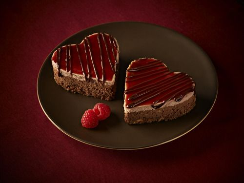 raspberry cheesecake hearts chocolate raspberry cheesecake raspberry ...