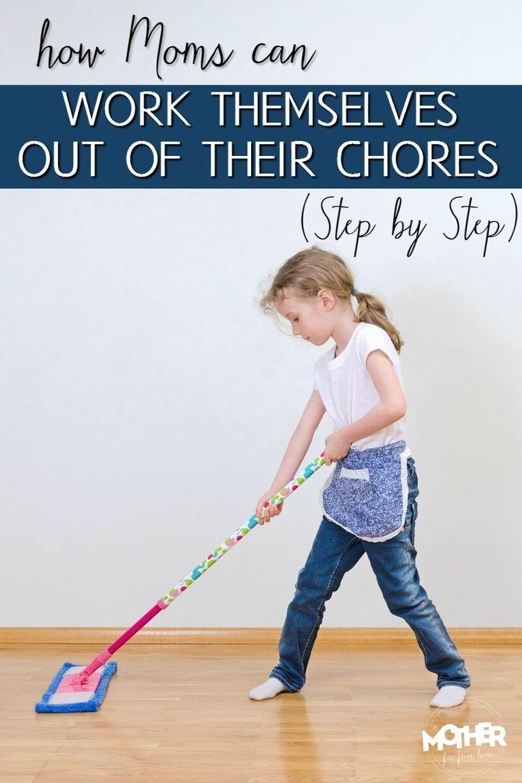 Mothers of toddlers, preschoolers, and elementary school aged kids need to read this. It's how they can teach their children, step by step, to do household chores so they work themselves out of a job. Included are some printable chore cards.