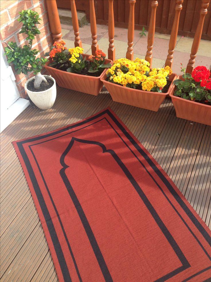 The Moazam Prayer Mat #prayermat #prayermats #prayerrug #salah #musallah #namaaz #theprayermatcompany #britishmade #designerprayermat