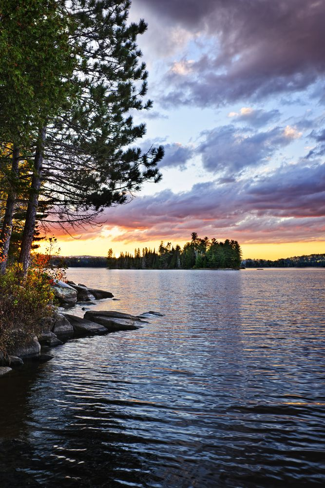 Lake of Two Rivers, Algonquin Park