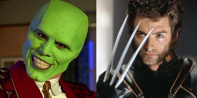 Hugh Jackman (The Mask) e Jim Carrey (Wolverine) si sfidano nelle imitazioni - Sw Tweens