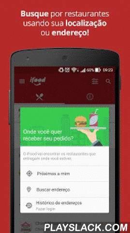 IFood - Delivery De Comida  Android App - playslack.com ,  Procurar cardápios para pedir comida virou coisa do passado. O iFood desenvolveu um sistema inovador para que você possa pedir seu delivery pelo celular sem complicações. Tenha acesso a uma base de milhares de restaurantes e faça seu pedido de maneira simples e segura. E o melhor: você não paga nada a mais por isso!Oferecemos para você a opção de pedir online através de nosso aplicativo. Os restaurantes para pedidos online oferecem…