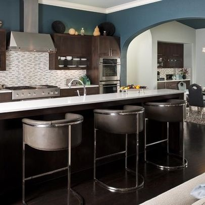 Contemporary Home Kitchen Paint Colors Design Ideas, Pictures, Remodel, and Decor - page 3