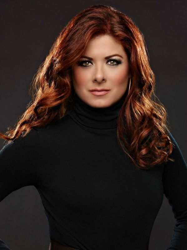 debra messing--she has the most awesome hair.