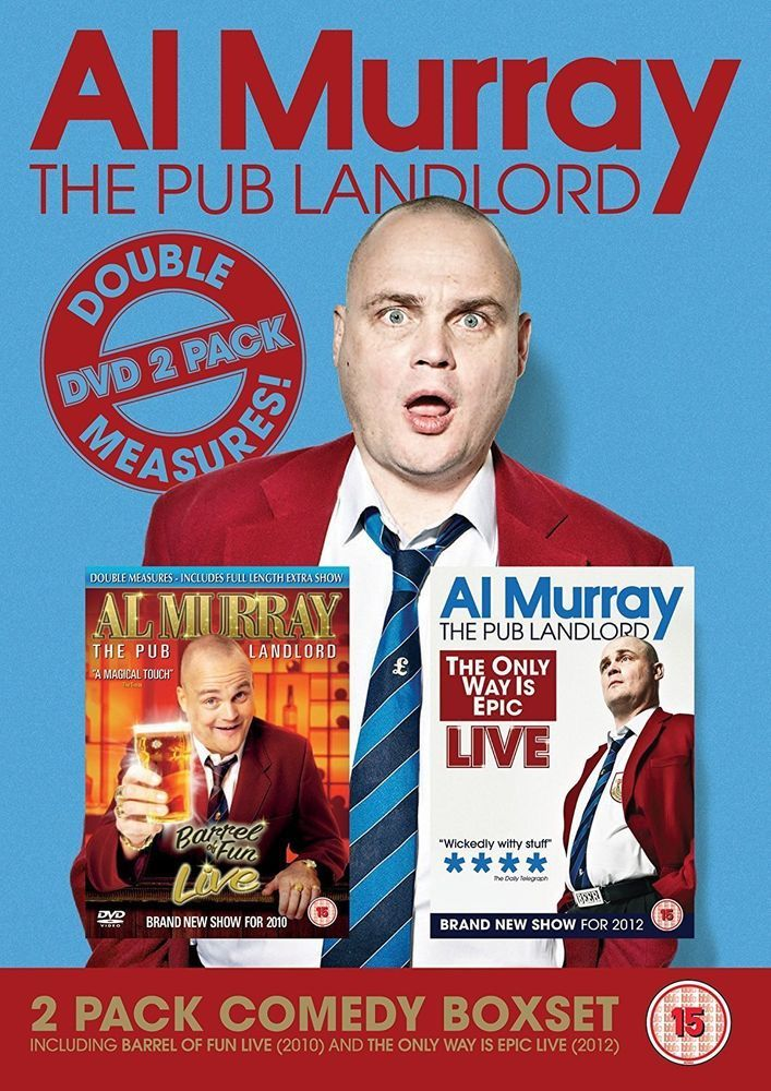 Al Murray: The Pub Landlord Double Measures: Stand Up Collection [DVD]
