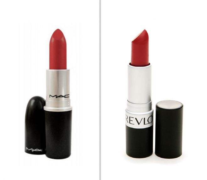 MAC Russian Red/ Revlon Really Red