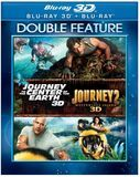 Journey to the Center of the Earth 3D/Journey 2: The Mysterious Island 3D [3D] [Blu-ray] [Blu-ray/Blu-ray 3D]