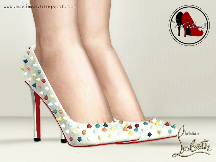 MA$ims 3: Christian Louboutin 2014 Candy Colour Spiked Pumps ...