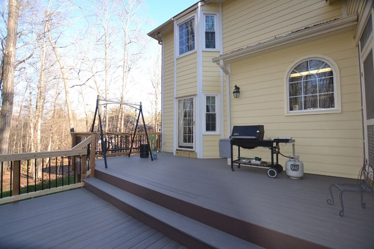 Hillsborough Composite Deck Remodel and Expansion Maximizes Forest and Wildlife Viewing | Archadeck Outdoor Living