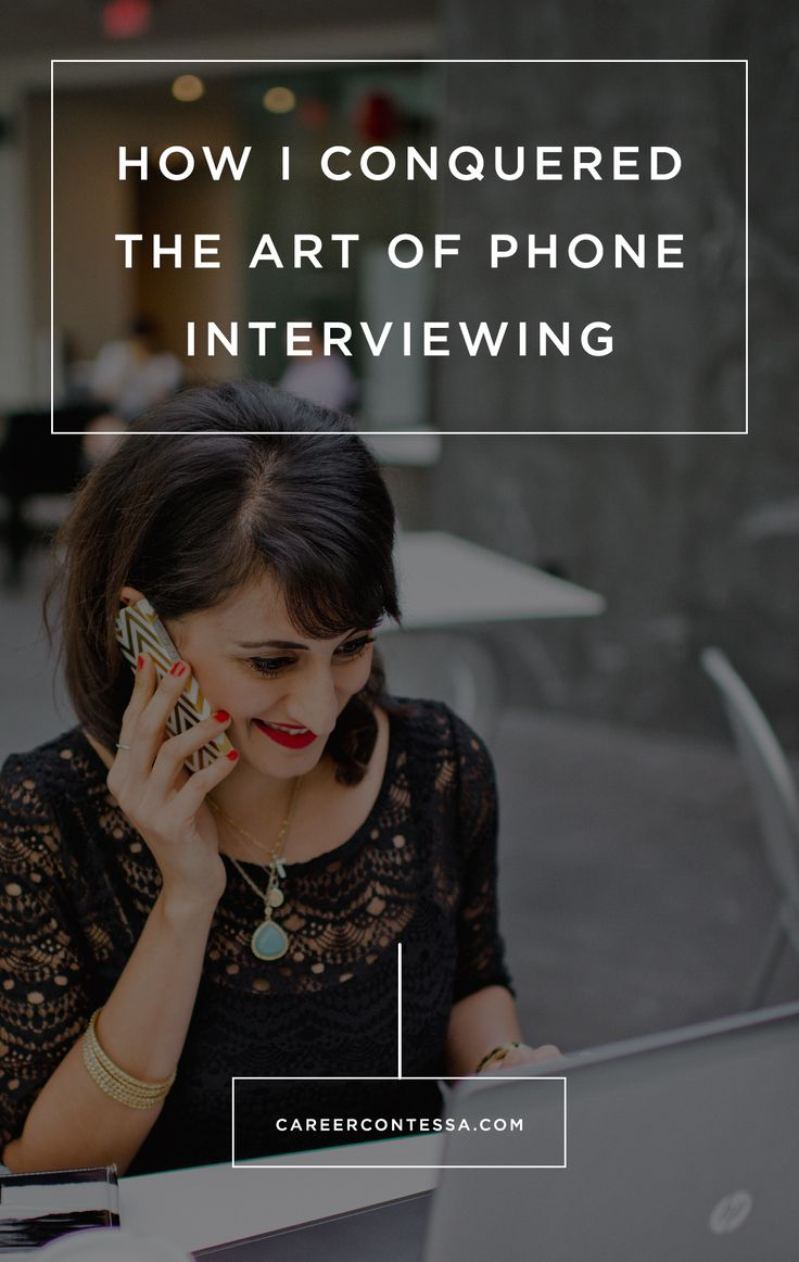 PHONE INTERVIEWS, MUCH LIKE ISOSCELES TRIANGLES, ARE SPECIAL BEASTS. | CAREER CONTESSA | BY: KATE FINLEY