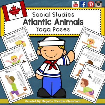 Hey Everyone I'm so glad to give you this awesome product absolutely FREE!I use this one in my classroom, page for page so I'm putting it up to share with you! You're going to love it and your kids are too.They love using their bodies to do these yoga poses - each card is created to resemble an arctic animal.