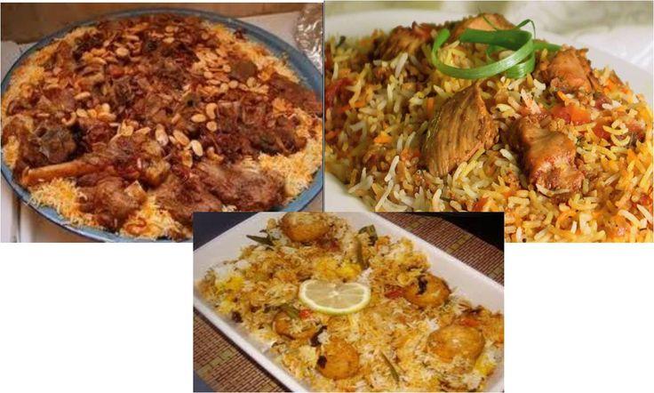 nasi briyani & kebuli