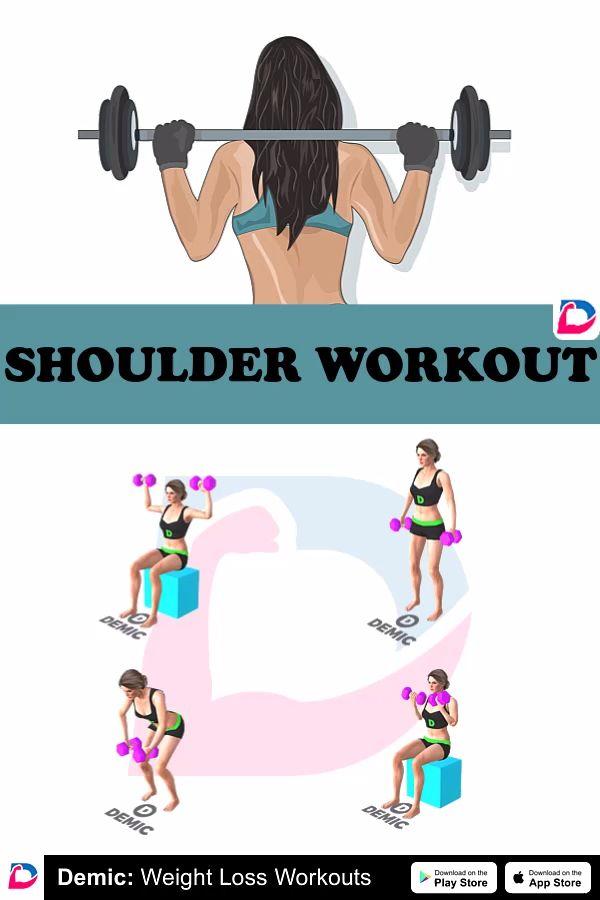 Shoulder Workout Video Shoulder Workout Dumbell Workout Workout