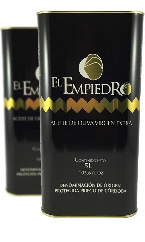 Award finalist. Category of Fruity Green Bitter: El Empiedro | S.C.A.O. La Purísima| Comprar Aceite de Oliva Virgen Extra