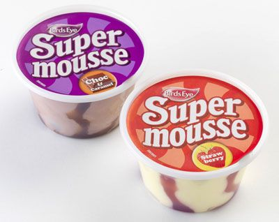 Supermousse, never waited long enough for them to defrost. They were rock hard and powdery when eaten straight from the freezer.