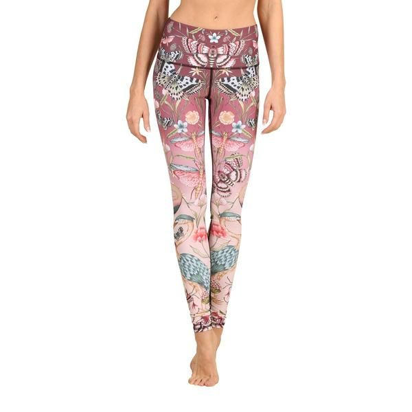 c2d41389aec0e9 Pretty in Pink Printed Yoga Leggings in 2019 | My Style | Yoga ...