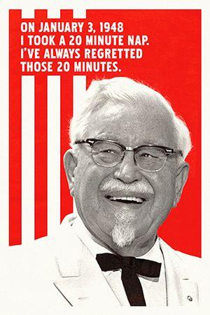 Kentucky Fried Chicken - 75th Anniversary / CD - Eric Baldwin Creative Director/Art Director/Designer/Illustrator/Writer/Director