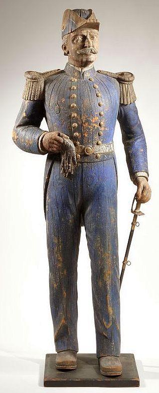 Admiral George Dewey Trade Figure, 19th century.