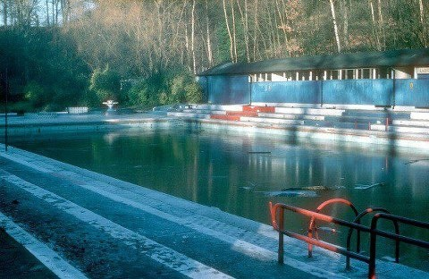 50 best leeds memory lane images on pinterest west - Outdoor swimming pools north west ...