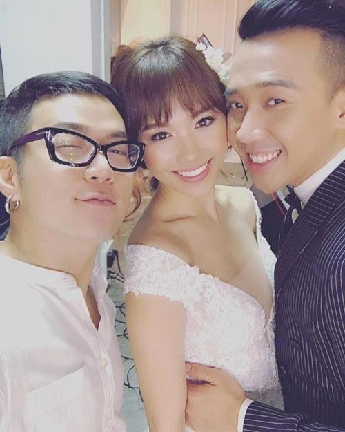 Lộ ảnh Hari Won và Trấn Thành đi thử áo cưới