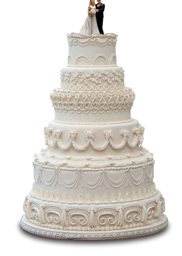 Wedding cake looks like bride 11