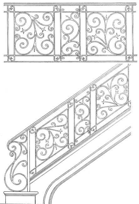 Stair Railing Designs ISR103