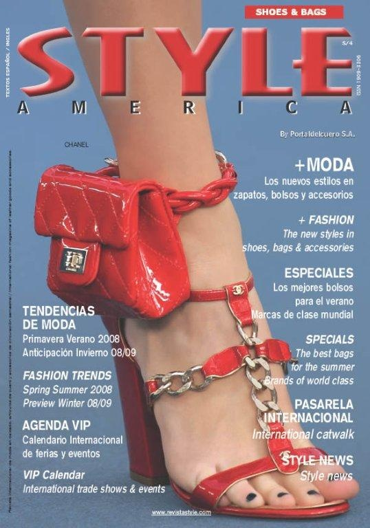 STYLE AMERICA fashion cover CHANEL