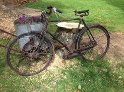 Vintage Bicycle Garden Ornament.