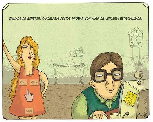 Mas lencería para conquistar a un Diseñador - #ChistesparaDG
