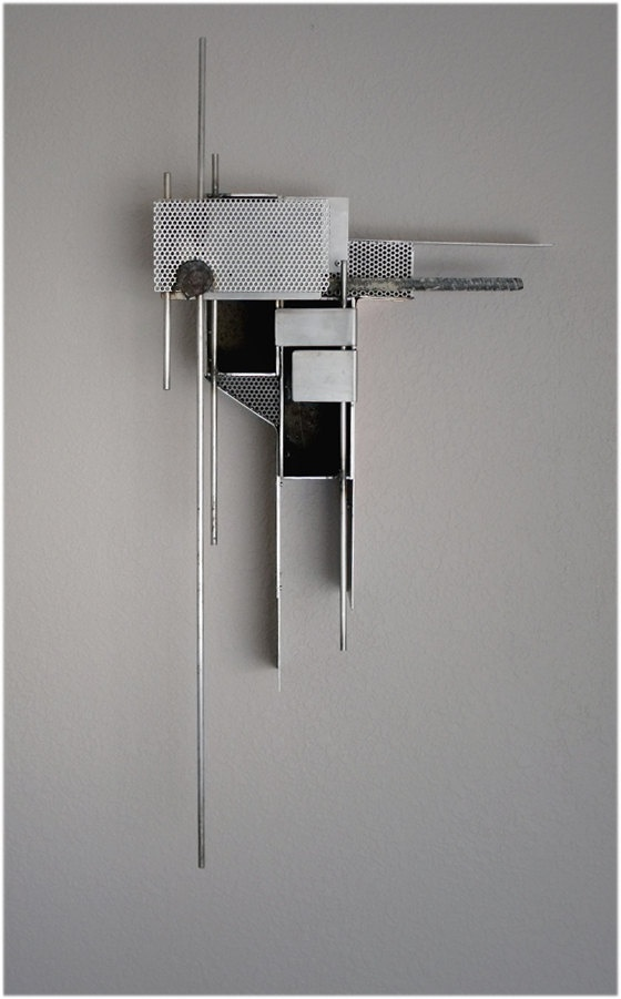 abstract metal sculptures by Thomas Tellesbo