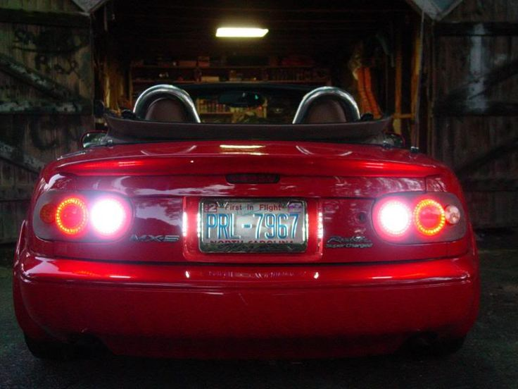 LED tail light | Miata | Led tail lights, Tail light ...