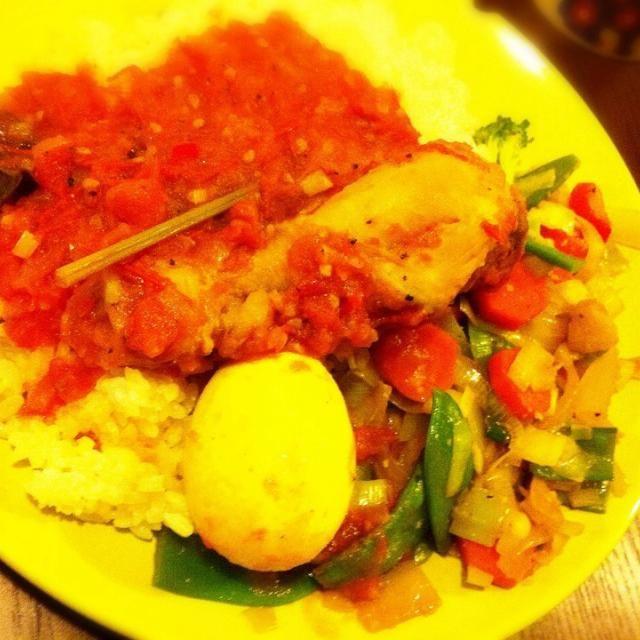 インドネシア料理。 チキンとトマトの煮込み。 - 7件のもぐもぐ - リチャリチャ by ひろみち