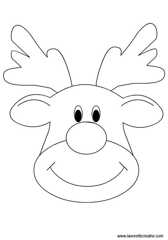 Oltre 25 fantastiche idee su renne di babbo natale su - Come disegnare un cartone animato di gufo ...