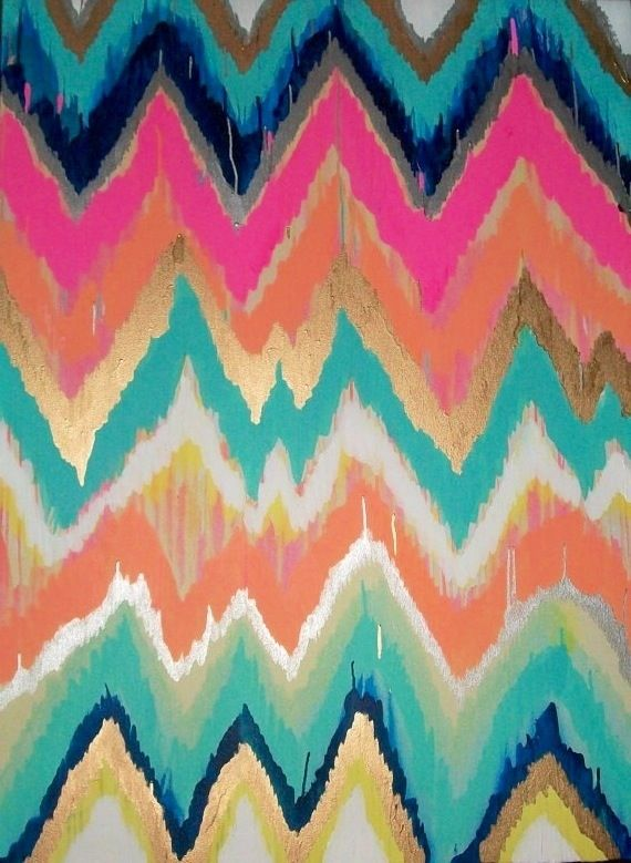 Chevron Wallpaper Backgrounds Wallpapers Pinterest