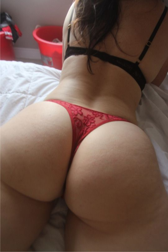 White Ass Thong 114