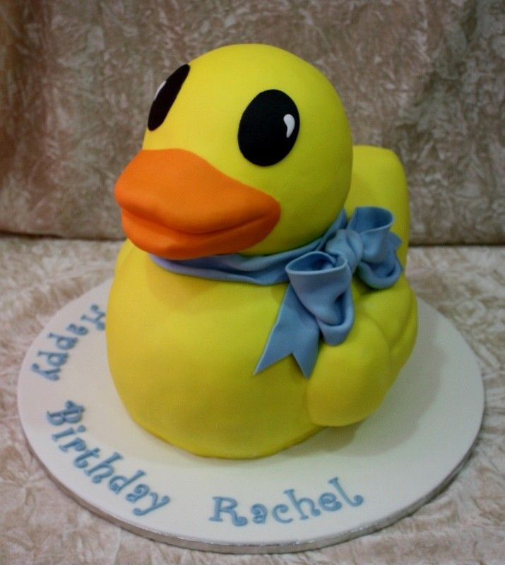 Rubber Duck Cake                                                       …